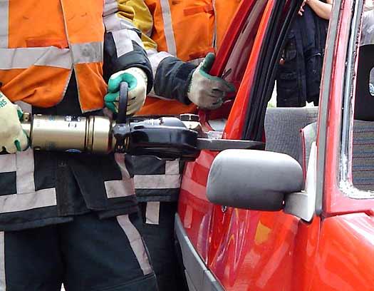 Hydraulische schaar brandweer